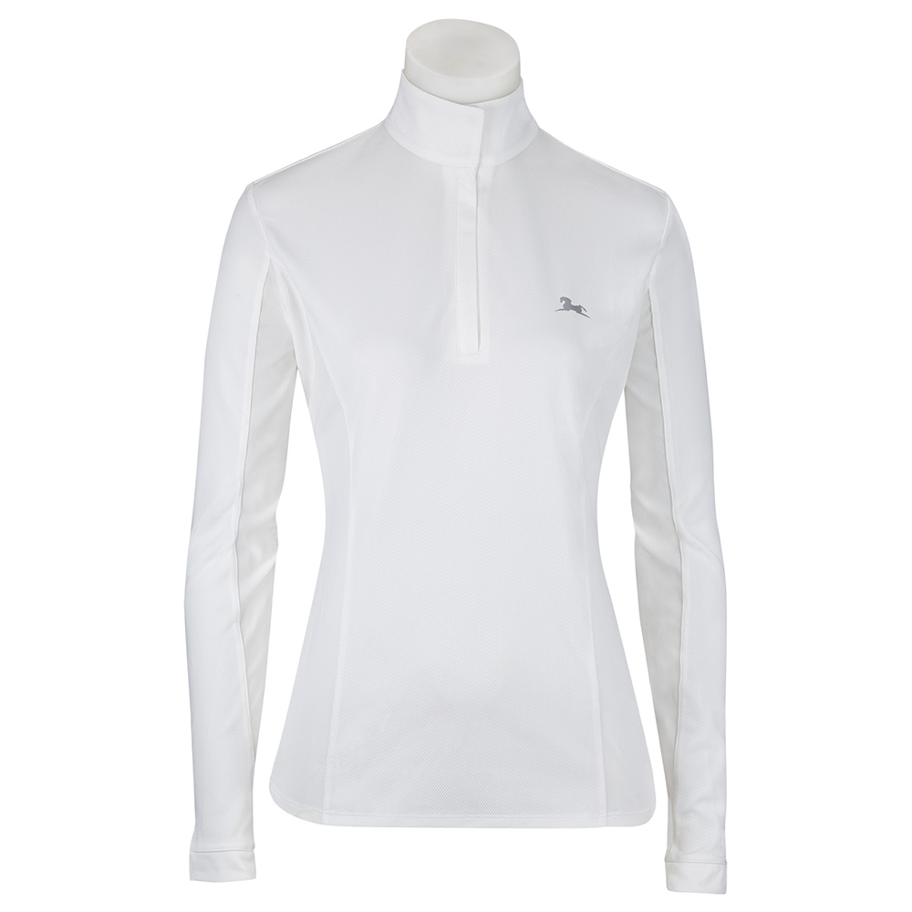 Janie Ladies' Long Sleeve Show Shirt