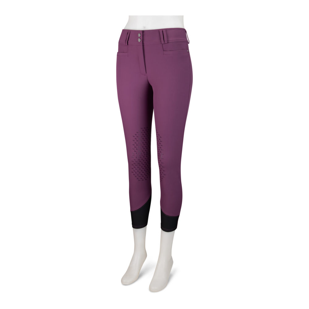 Harper Ladies' Natural Rise Front Zip Silicone Breech