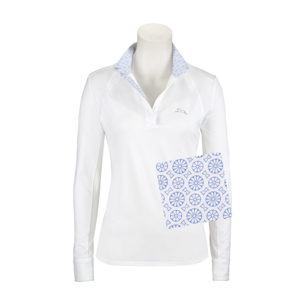 Maddie Ladies' Long Sleeve Show Shirt with 37.5® Temperature Regulating Technology