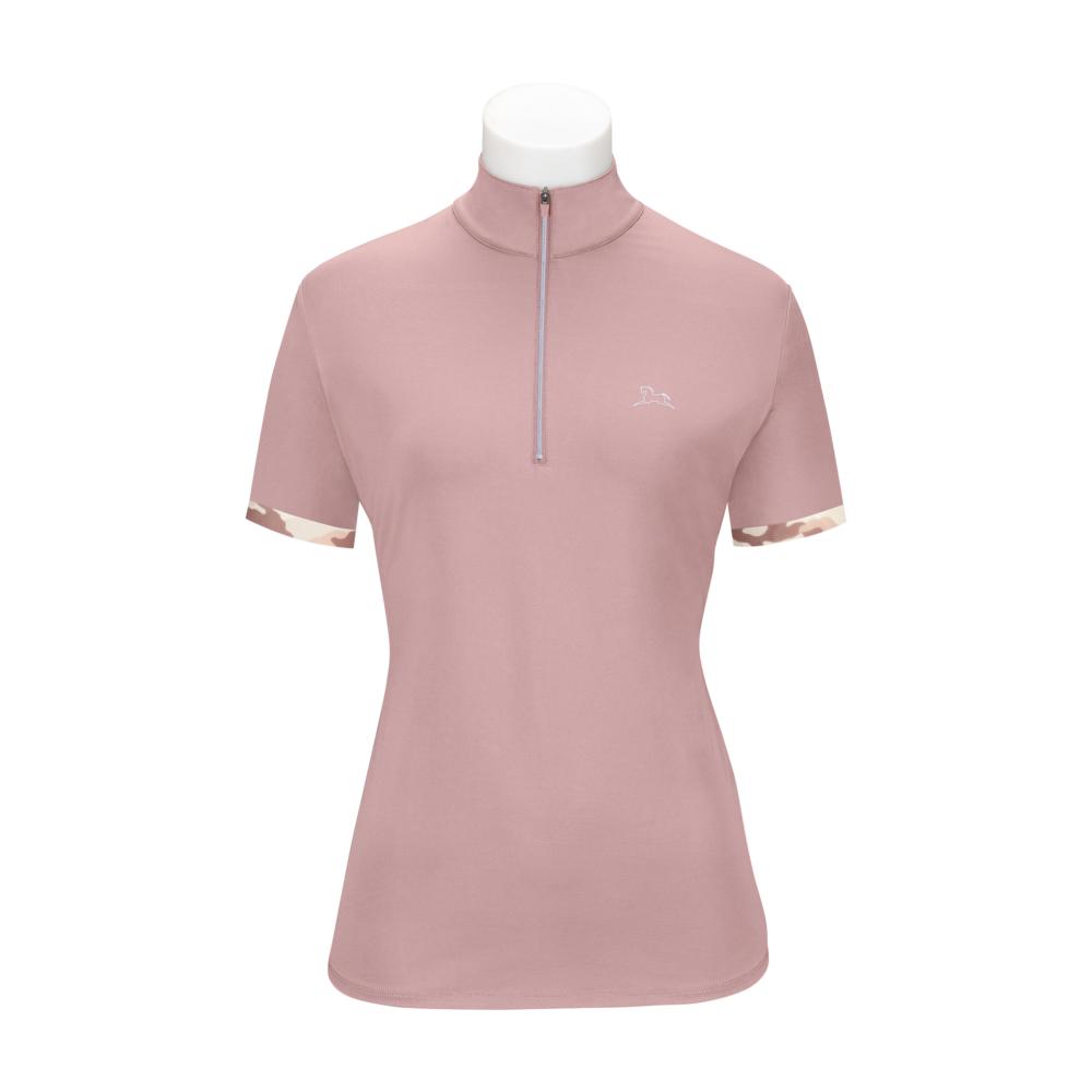 Maya Ladies Short Sleeve Training Shirt with 37.5 Temperature Regulating Technology